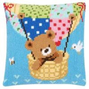 Изображение Медведь на воздушном шаре (подушка) (Bear In Hot Air Balloon)