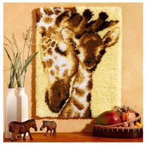 Изображение Семья жирафов (коврик) (Giraffe Family)
