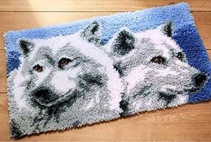 Изображение Волки (коврик) (Wolves Rug)
