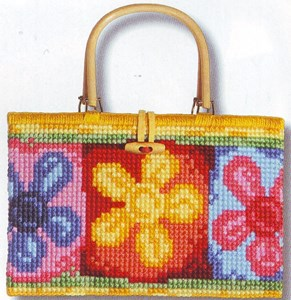 Изображение Яркие цветы (Bright Flowers Handbag)