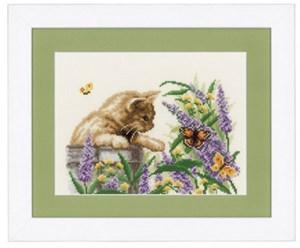 Изображение Бабочки в зарослях (Butterfly Bush)
