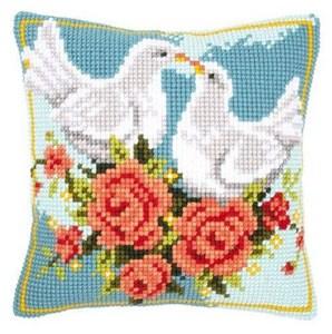 Изображение Белая нежность (подушка) (White Doves)