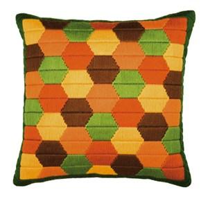 Изображение Ромбы (подушка) (Bold Hexagons)