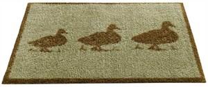 Изображение Ducks коврик придверный. синтетика на основе ПВХ