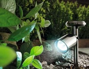 Изображение Светильник на солнечной батарее для точечной подсветки