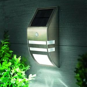 Изображение Светильник настенный на солнечной батарее с датчиком движения