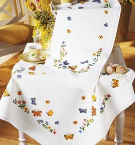 Изображение Бабочки (скатерть) (Butterflies Tablecloth)