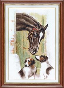 Изображение Встреча в конюшне