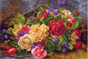 Изображение Цветы в корзине
