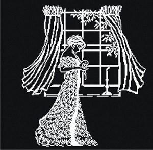 Изображение Дама у окна