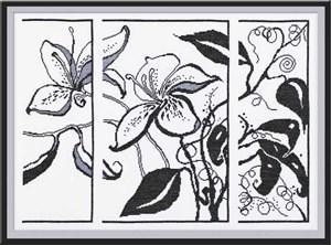 Изображение Цветы графика