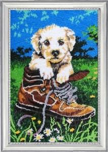 Изображение Шаловливый щенок