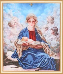 Изображение Богородица с ангелами
