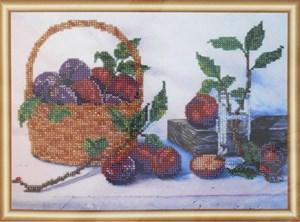 Изображение Корзина со сливами