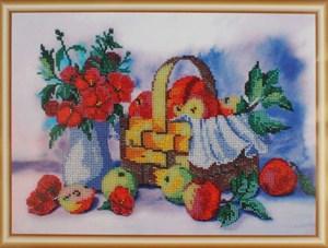 Изображение Лукошко яблок