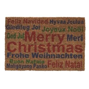 Изображение Коврик Merry Christmas to All H40cm x W60cm