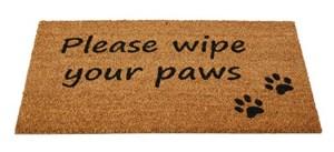 Изображение Коврик Please Wipe Your Paws H45cm x W75cm