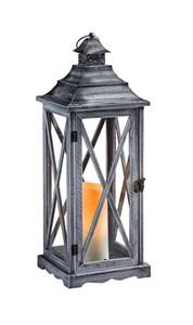 Изображение Фонарь Hartland со светодиодной свечой H 57cm x W 20cm x D 20cm