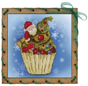 Изображение Рождественское пирожное