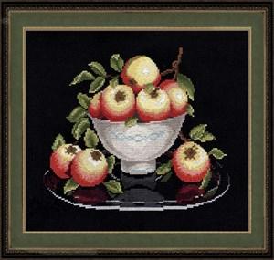 Изображение Яблоки в вазе