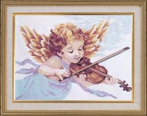 Изображение Ангел со скрипкой