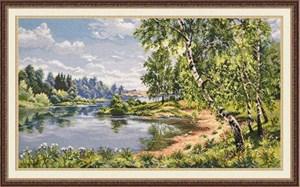 Изображение Березы у реки