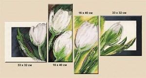 Изображение Белые тюльпаны
