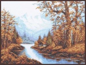 Изображение Пейзаж с горами