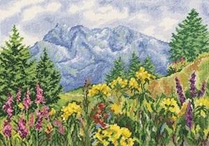Изображение Горная поляна