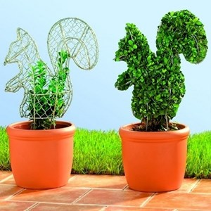 Изображение Каркас для фигурного кустарника -Белка 45см