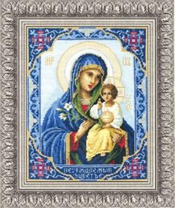 Изображение Икона Божьей Матери Неувядаемый Цвет