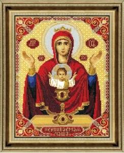 Изображение Икона Пресвятой Богородицы Неупиваемая Чаша
