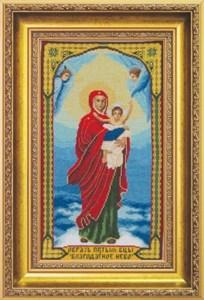 Изображение Икона Образ Пресвятой Богородицы Благодатное Небо