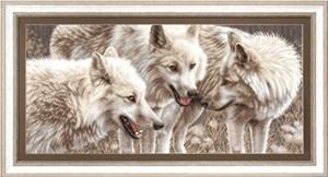 Изображение Белые волки