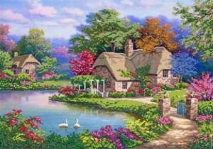 Изображение Цветение природы