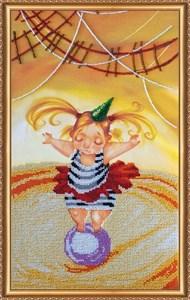 Изображение Девочка на шаре
