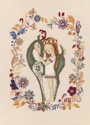 Изображение Девочка и лань