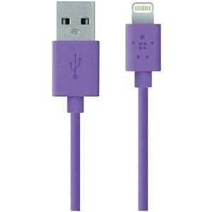 Изображение USB ChargeSync кабель Belkin сиреневый
