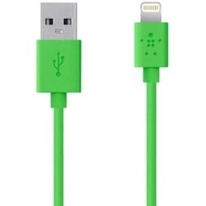 Изображение USB ChargeSync кабель Belkin зеленый