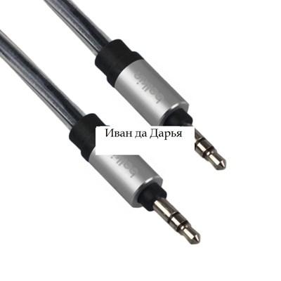 Изображение AUX кабель Belkin плетеный черный