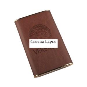 Изображение Внешний АКБ FASHION Versace коричневый с золотом