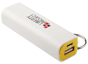 Изображение Внешний АКБ LP с фонариком белый с желтым