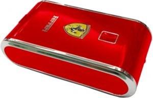 Изображение Внешний АКБ Ferrari красный