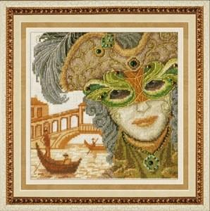 Изображение Венецианская маска. Он