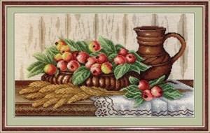 Изображение Натюрморт с райскими яблочками