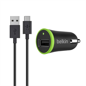 Изображение АЗУ Belkin с кабелем MicroUSB черное
