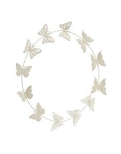 Изображение Настенный декор Butterflies кремовый
