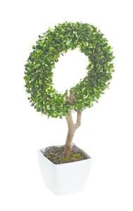 Изображение Искусственное топиари Circle Topiary 45см в горшке, 10 LED лампочек, на батарейках