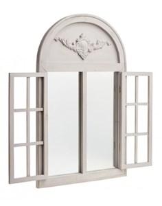 Изображение Зеркало со ставнями арочное French Style