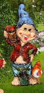 Изображение Гном с курицей